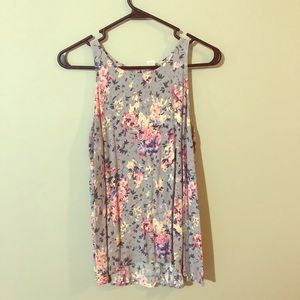 Old Navy Floral Tank, Size Large